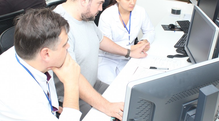 Workshop at the Computer Tomography Division